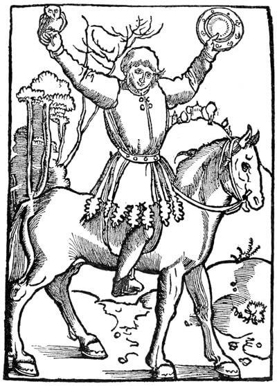 Титульный лист немецкого издания 1515 года «Занимательного сочинения о плуте Тиле»