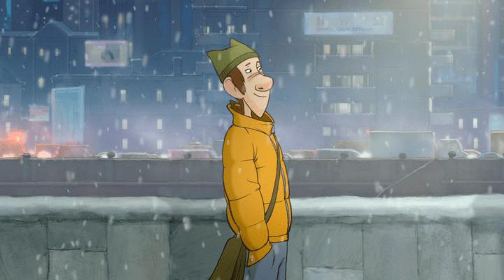 """Кадр из анимационного фильма """"Ку! Кин-Дза-Дза"""" (2013)"""