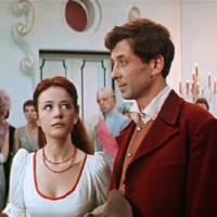 Кадр из экранизации одноименной пьесы Евгения Шварца «Тень» Надежды Кошеверовой (1971)