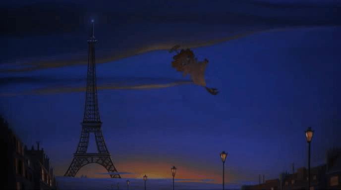 """Кадр из анимационного фильма """"Коты не танцуют"""" (1997)"""