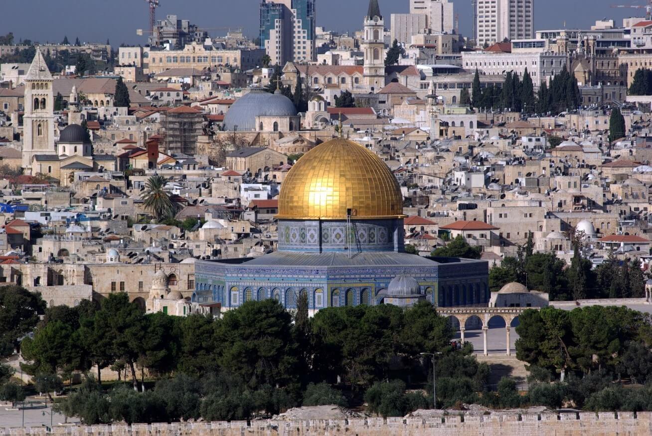 Мусульманская мечеть Купол Скалы (Иерусалим, Израиль)
