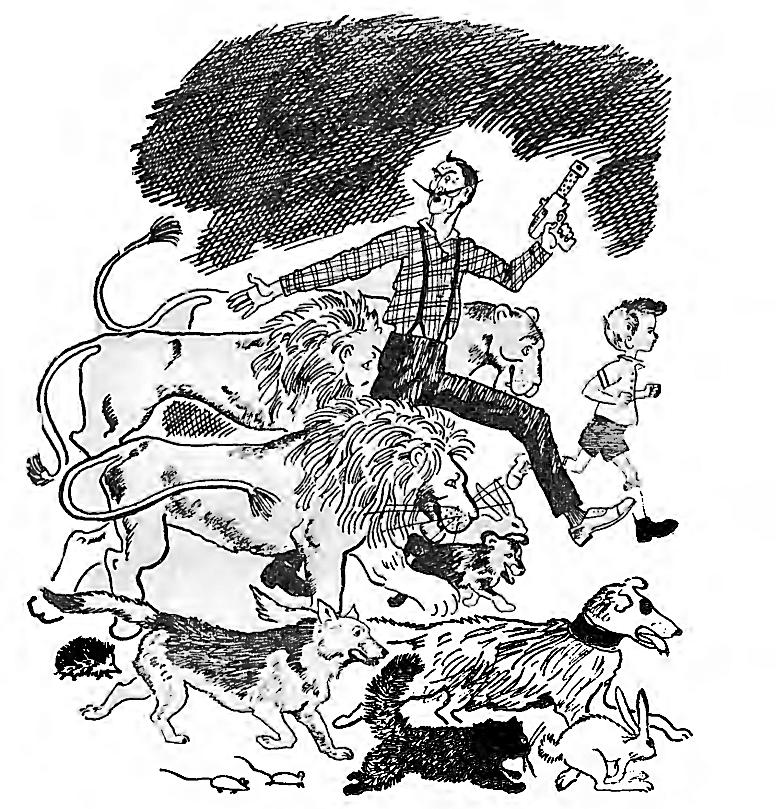 Иллюстрация Евгения Мешкова к повести Ф.Ф. Кнорре «Капитан Крокус»