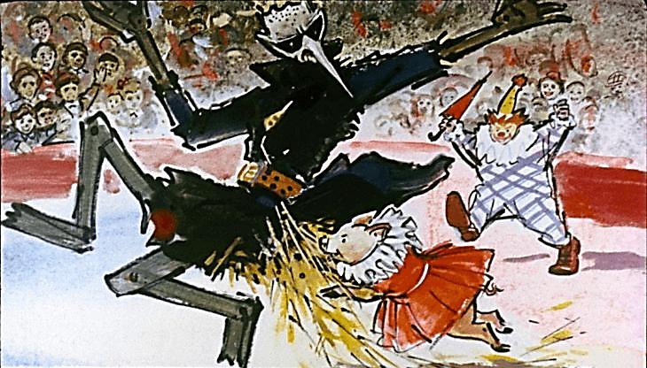Иллюстрация Владимира Шевченко к повести Ф.Ф. Кнорре «Капитан Крокус»