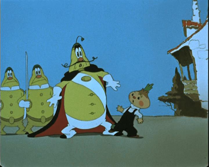 "Кадр из мультфильма ""Чиполлино"" (1961)"