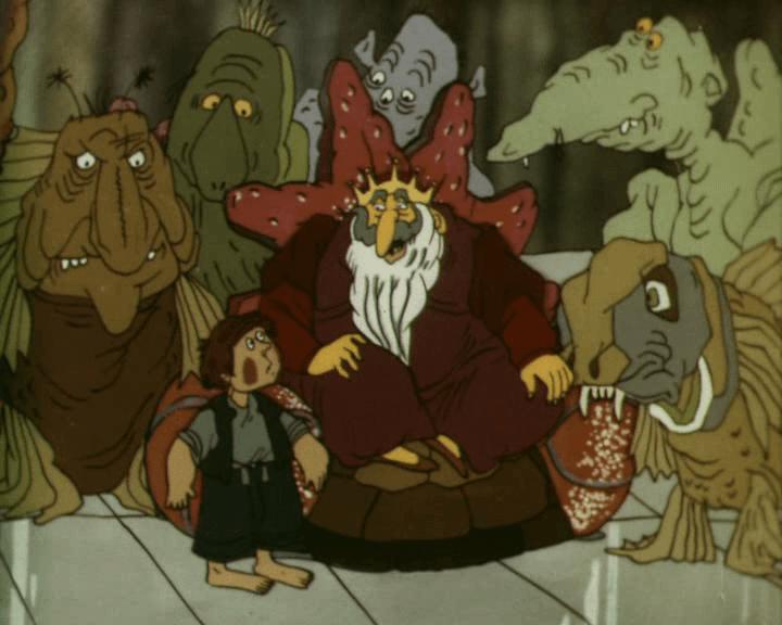 """Кадр из мультфильма """"В синем море, в белой пене"""" (1984)"""