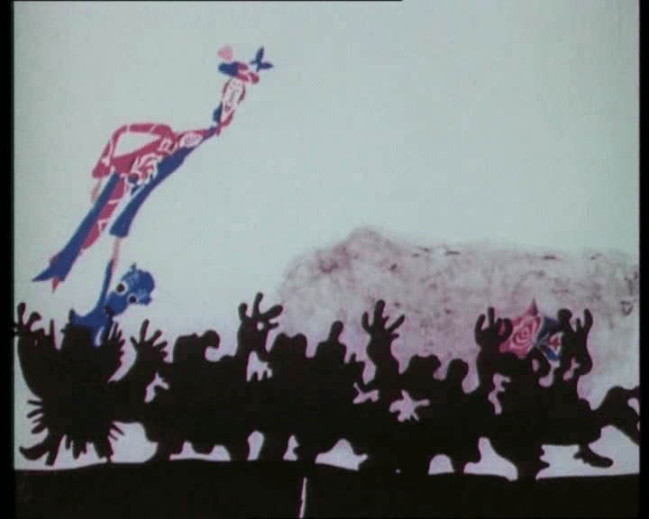 """Кадр из мультфильма """"Голубой щенок"""" (1976)"""