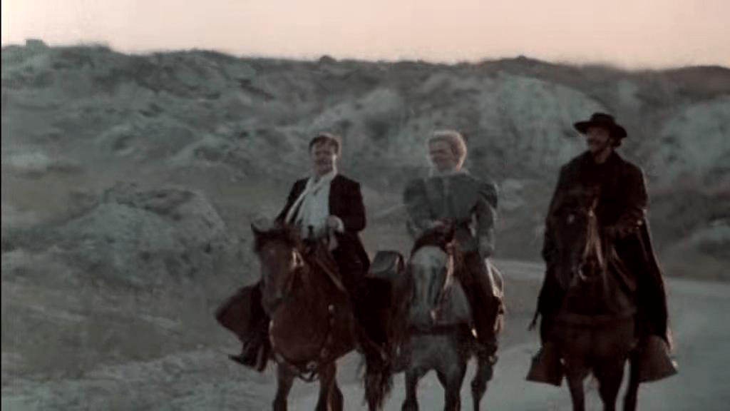 """Кадр из х/ф """"Человек с бульвара Капуцинов"""" (1987)"""