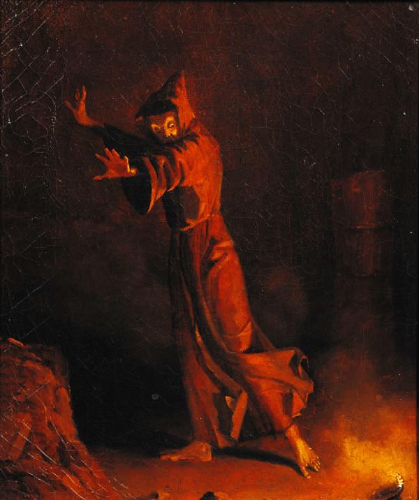 Иллюстрация Карла Блекхена к роману Э.Т.А. Гофмана «Эликсиры дьявола»