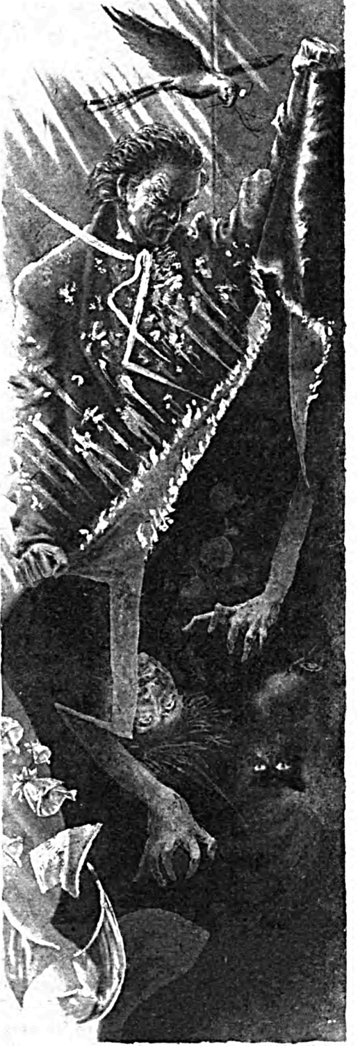 Иллюстрация С.А. Чайкуна к новелле Э.Т.А. Гофмана «Золотой горшок»
