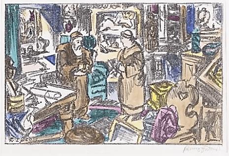 Иллюстрация Франца фон Зюлова (Franz von Zülow) к роману Э.Т.А. Гофмана «Эликсиры дьявола»