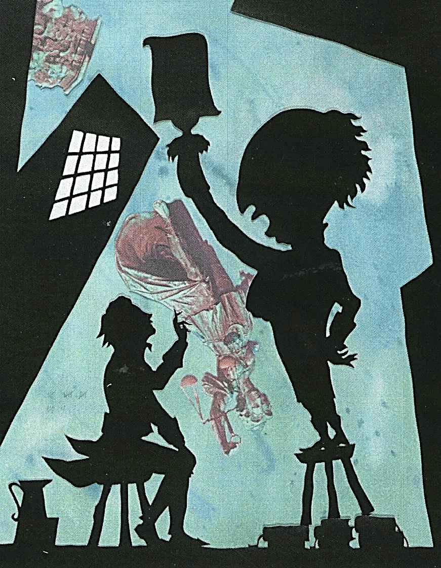 Иллюстрация Людвига Ганса-Гюнтера (Hans-Günther Ludwig) к сказке Э.Т.А. Гофмана «Повелитель блох»