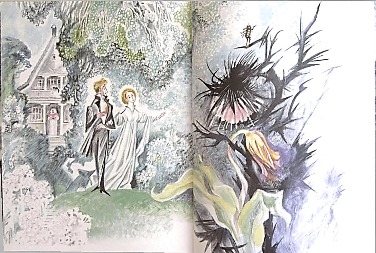 Иллюстрация Н.Г Гольц к сказке Э.Т.А. Гофмана «Повелитель блох»