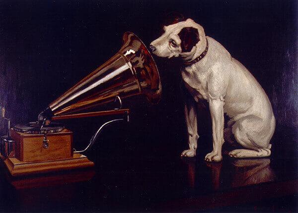 "Фрэнсис Джеймс Барро ""Голос его хозяина"" (1899)"