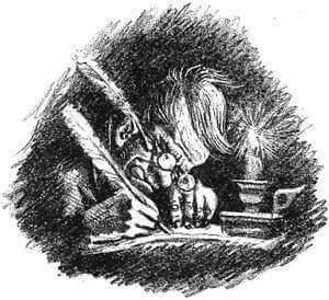 Иллюстрация А.Н. Самохвалова к «Истории одного города» М.Е. Салтыкова-Щедрина