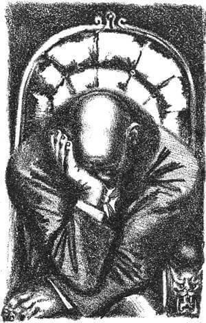 Иллюстрация А.Н. Самохвалова к главе «Известие о Двоекурове» «Истории одного города» М.Е. Салтыкова-Щедрина